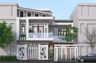 mẫu nhà 2 tầng hiện đại đẹp
