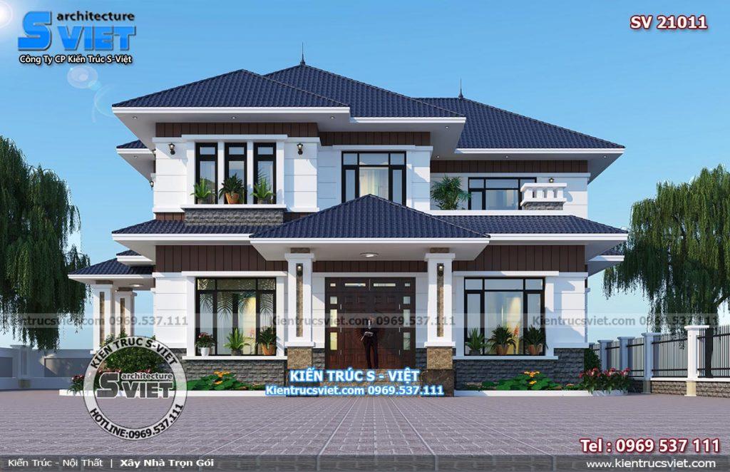 thiết kế mẫu nhà vườn đẹp